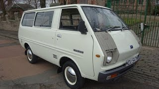 for sale ultra rare 1978 classic toyota liteace day van at clarkson commercials glasgow