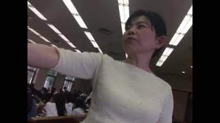 鈴鹿大学で初年ゼミーの事業.