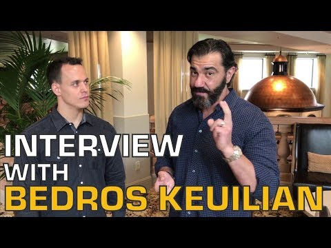 Interview with Bedros Keuilian.  On how to get the immigrant edge and man up for fat loss over 50.
