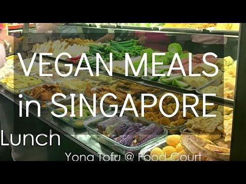 WHAT I EAT On a WORKING DAY in SINGAPORE 🍎Healthy & Vegan!