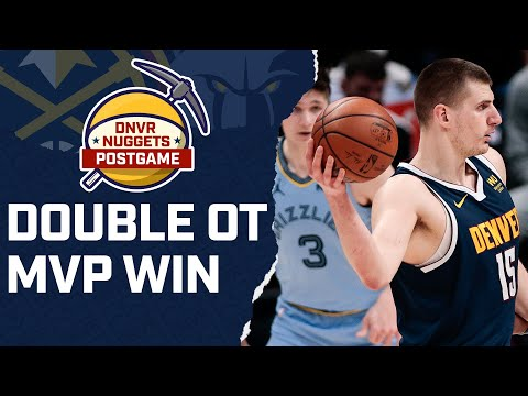 Nikola Jokic goes for 47 in a double OT win over the Memphis Grizzlies | DNBA Live