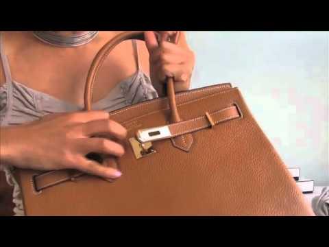 birkin bag look for less - My new HERMES BIRKIN bag - YouTube