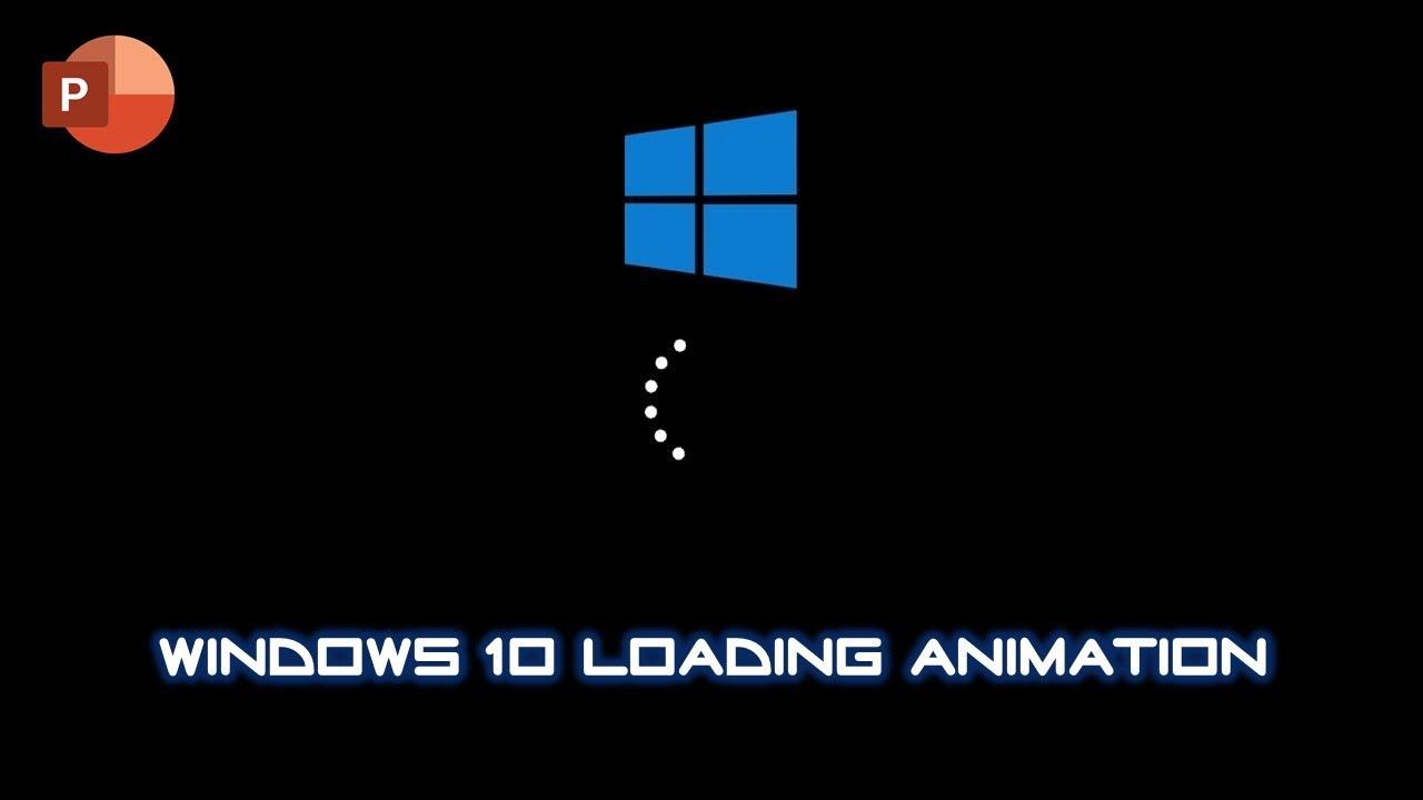 how to make windows 10 loading animation microsoft
