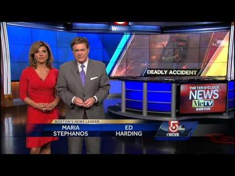 The Ten O'Clock News on MeTV Boston, Open   03 29 2016   WCVB-TV by Random  Clips