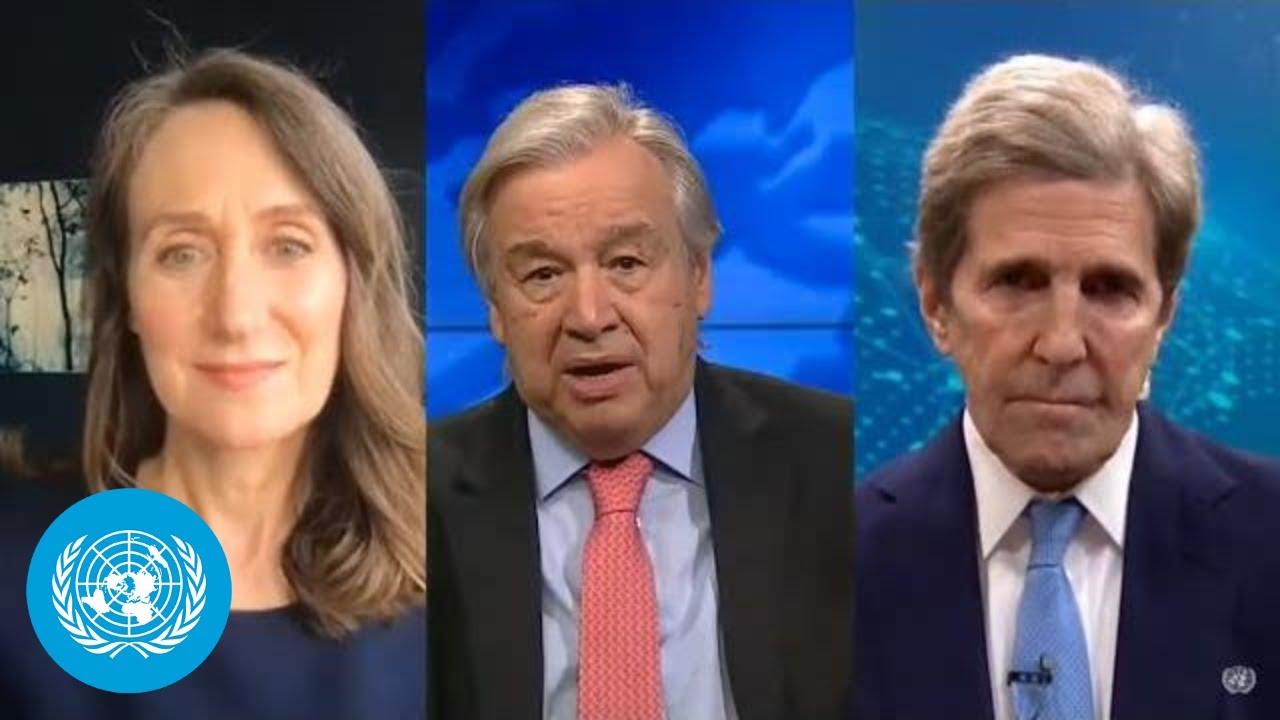 UN hails US re-entry into Paris Agreement