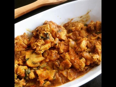Spicy Mushroom Chicken Curry Recipe (Easy weekday dinner ideas)