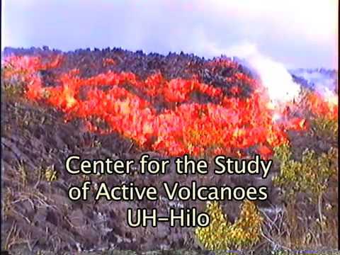 CSAV Hawaii: Volcanic Eruption With Aa