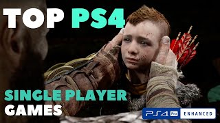 Top Single Player Ps4 Games 2017-18