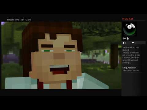 First Time Playing Minecraft StoryMode| The Perfect Asset Gaming
