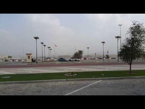 Stormy Day at Port Rashid in Dubai 24.11.2016