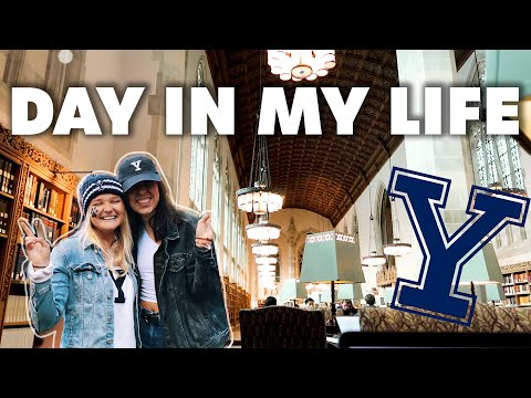 DAY IN MY LIFE AT YALE UNIVERSITY!