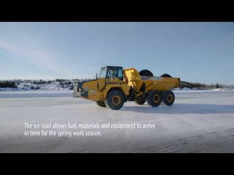 Ice Road Builder: A Project CLEANS Story