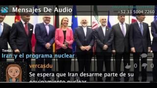 El trato del desarme nuclear con Irán
