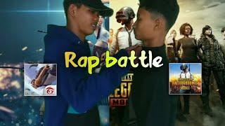 Free Fire VS PUBG Rap Battle of Game Player