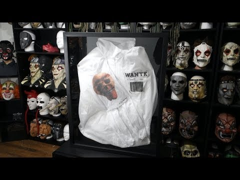 Slipknot 'We Are Not Your Kind' Mask/Jumpsuit Display!