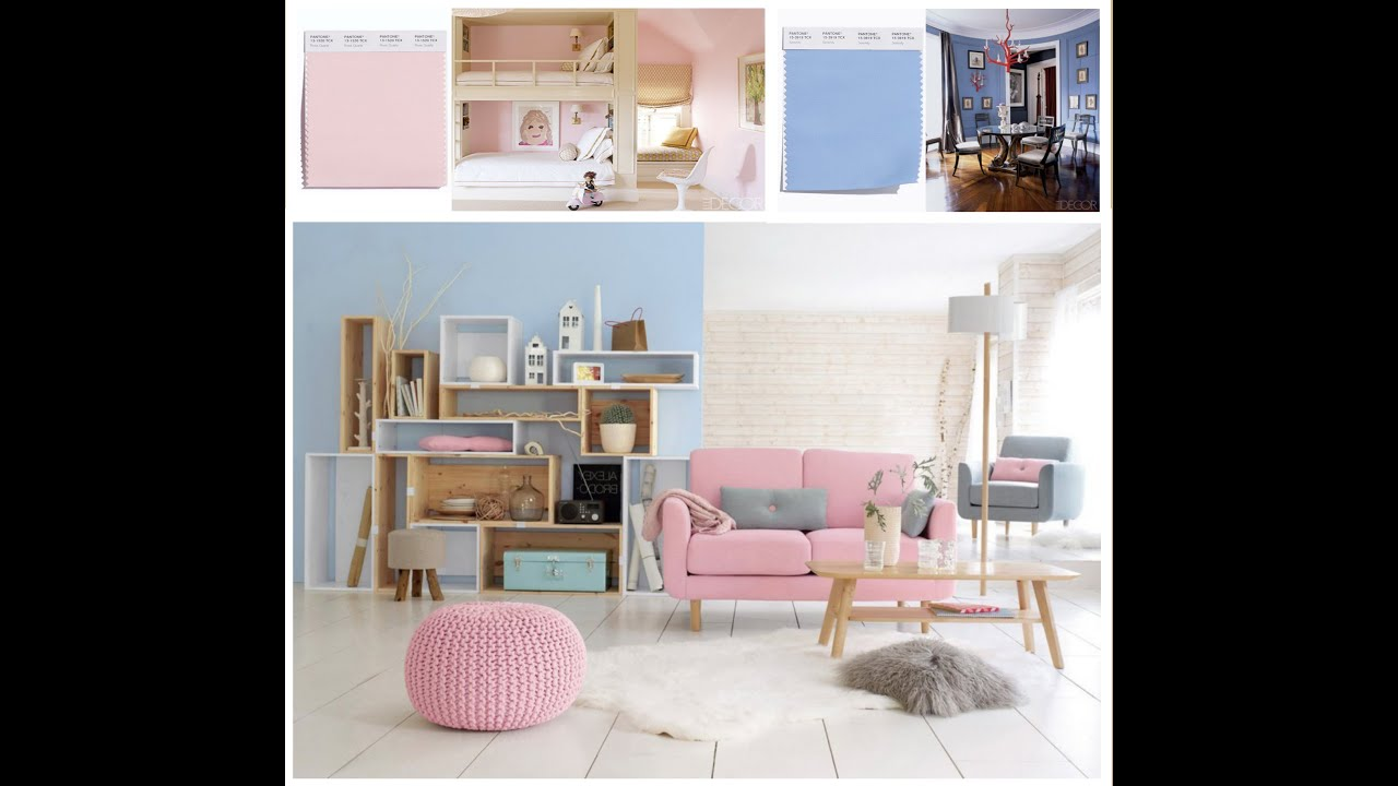 Pastel Colors Interior Trend - Interior Design Ideas - YouTube
