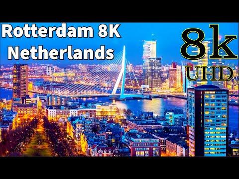 Rotterdam in 8K UHD | Rotterdam Netherlands 8K
