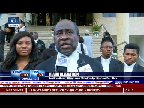 Court Orders Continuation Of Metuh's Trial Despite Absence
