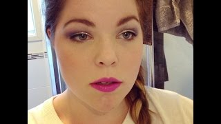 Purple and gold glittery glam Thumbnail