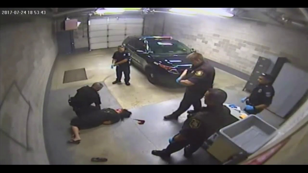 Michigan Cop Brutally Attacks Handcuffed Woman, Knocking Her Unconscious!