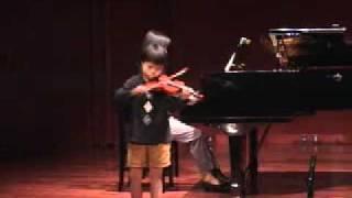 Dvorak : Humoresque 01 Dec 2001 Violinist:Yuta(Japan)