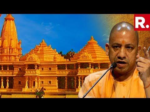Yogi Adityanath's massive statement on Ram Mandir, says 'Ayodhya Issue Can Be Resolved in 24 hours'