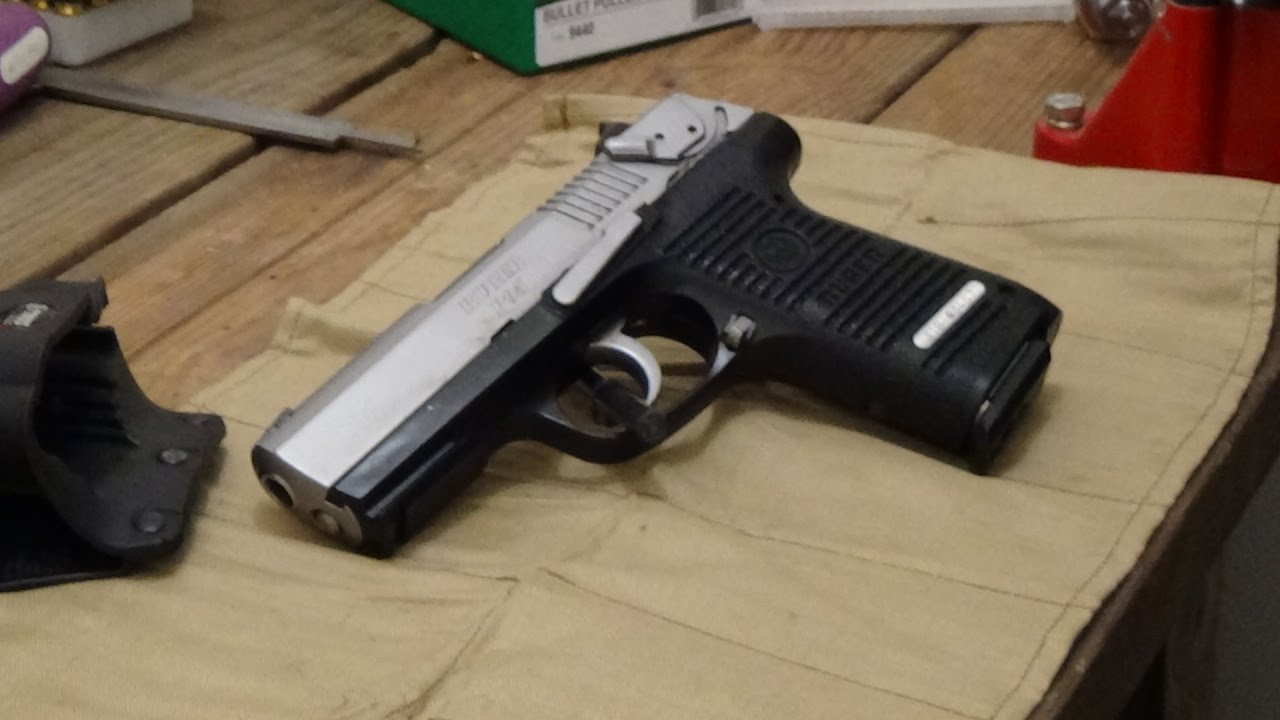 Ruger P95 Teardown And Clean