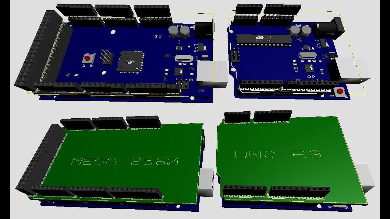 3d Components Library For Proteus Arduino Sensor Modules