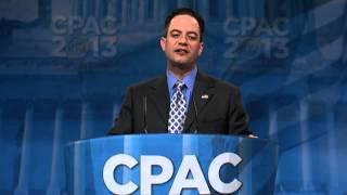 CPAC 2013 - RNC Chairman Reince Priebus