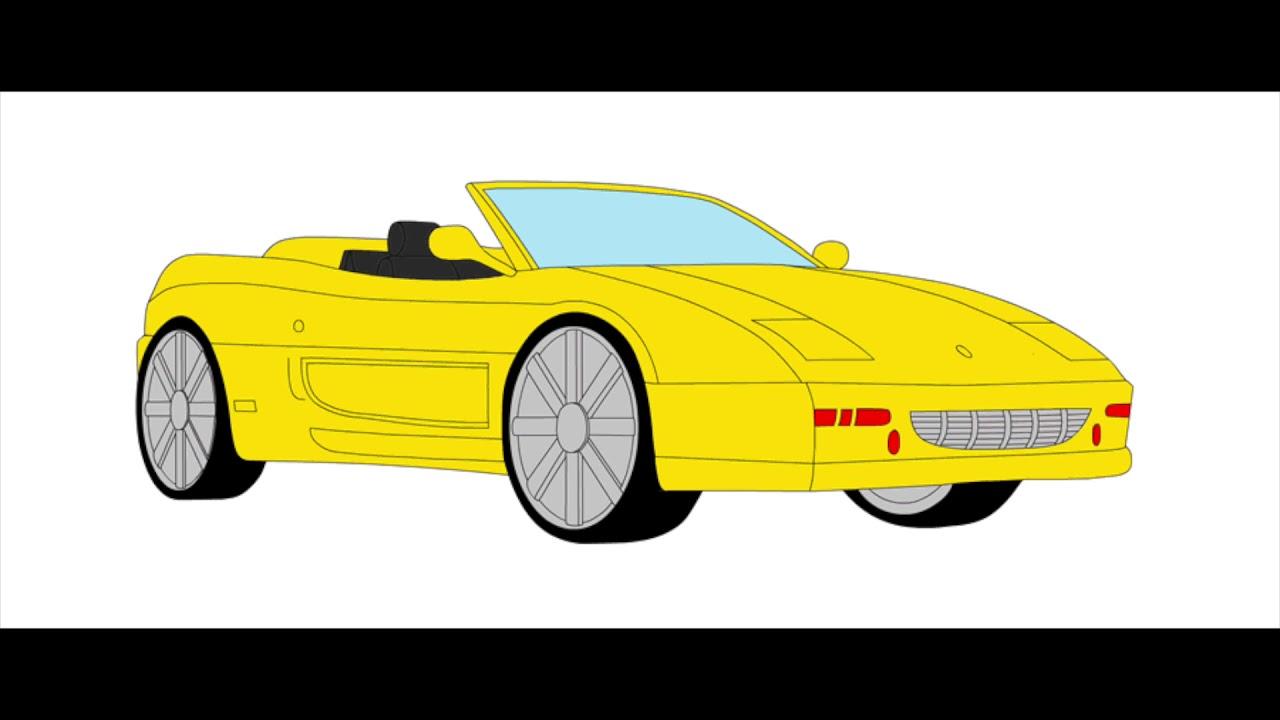 Машинки анимашки картинки