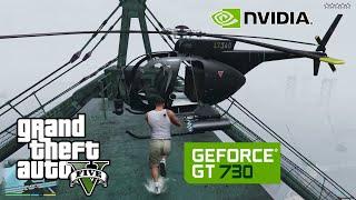 GTA 5 Gameplay Nvidia Geforce GT 730 2GB DDR5 🎮