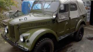 Gaz 69 A  history of restoration