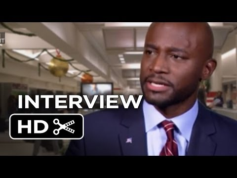 Baggage Claim Interview - Taye Diggs(2013) - Paula Patton Movie HD