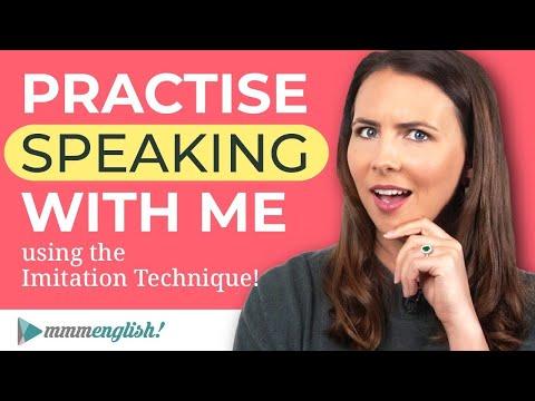 English Speaking Practice   Advanced Imitation Lesson