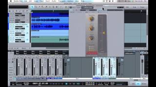 using the hornet autogain with studio one 2
