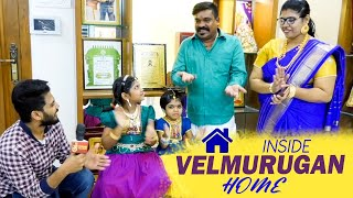 Bigg Boss 4 Vel Murugan's Amazing Interior Decorated Home | Inside tour