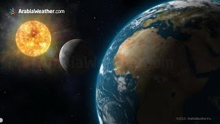ArabiaWeather.com - شاهد أجمل فيديو عن كسوف الشمس في أقل من 3 دقائق