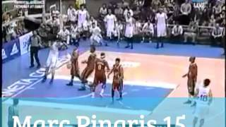 Top 10 Plays of Marc Pingris