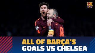 RAKUTEN CUP | Every single Barça goal against Chelsea