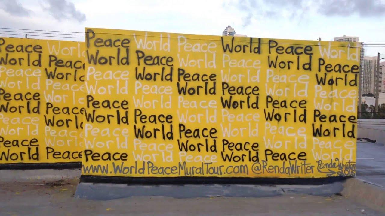 World Peace Mural Tour - by Renda Writer - Mural #5 - Wynwood Art ...