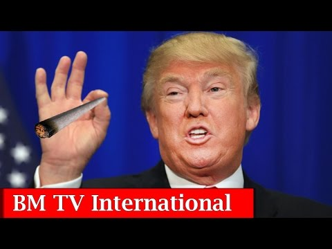 "Donald trump's presidential Marijuana ""Weed"" Speech 