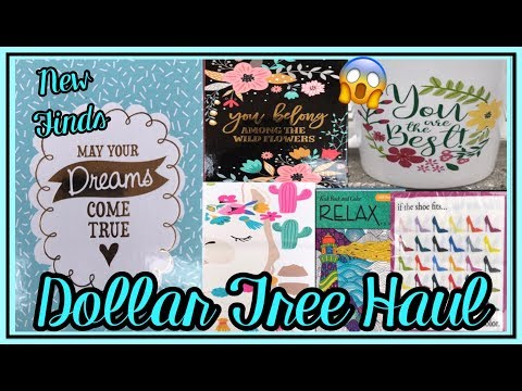DOLLAR TREE HAUL | AMAZING NEW FINDS | MAY 06 2019