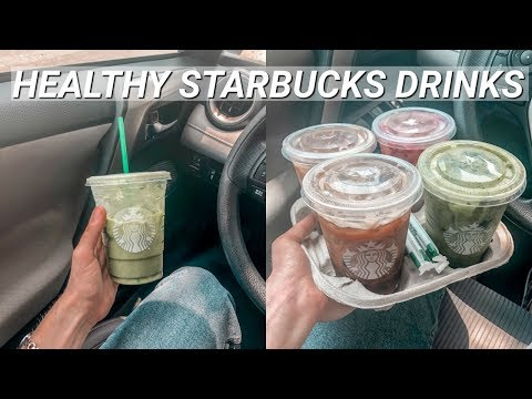 How to Make Any Starbucks Drink HEALTHY!