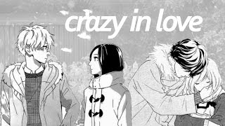 crazy in love - Ao Haru Ride / Hirunaka no Ryuusei - MMV -