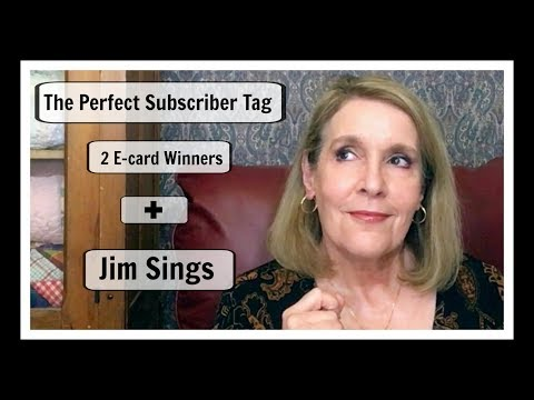 The Perfect Subscriber 2 $50 E-Gift Card Winners + Jim Sings