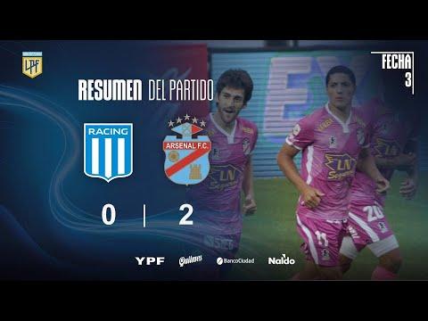 Расинг Авельянеда  0-2  Арсенал Саранди видео