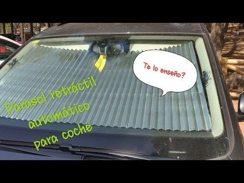 Parasol automático retráctil para coche