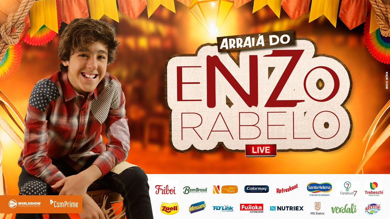 Arraiá do Enzo Rabelo #LiveEnzo #ArraiadoEnzo