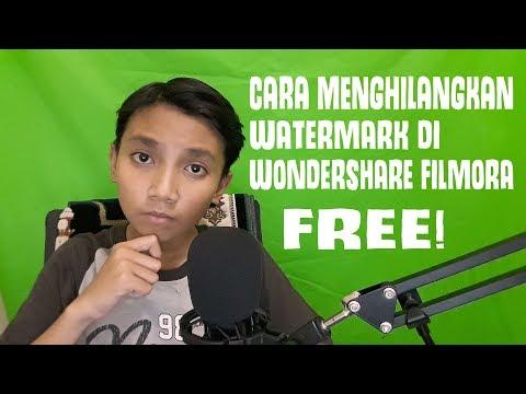 CARA MUDAH MENGHAPUS WATERMARK DI WONDERSHARE FILMORA!
