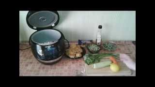 Домашние видео рецепты  - постная паста Примавера в мультиварке